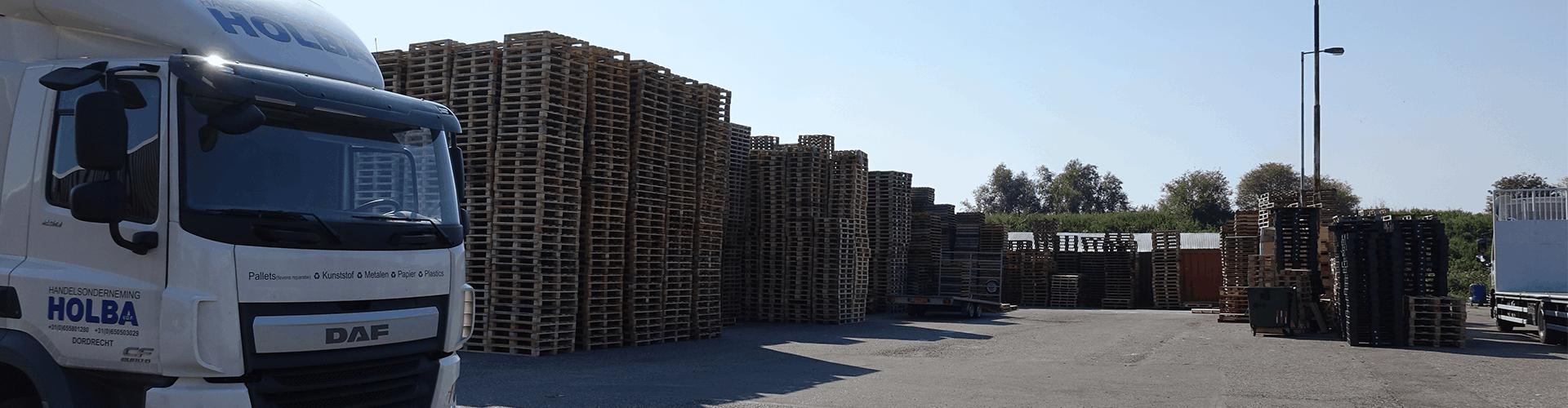 DÉ pallet & recycling expert in de regio`s Dordrecht & Rotterdam